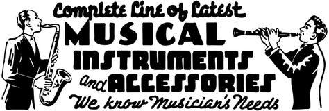 3 όργανα μουσικά Στοκ Εικόνα