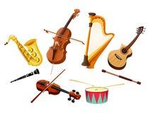 όργανα μουσικά ελεύθερη απεικόνιση δικαιώματος
