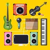 όργανα μουσικά απεικόνιση αποθεμάτων