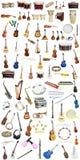 Όργανα μουσικής στοκ εικόνες με δικαίωμα ελεύθερης χρήσης