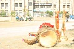 Όργανα φολκλορικής μουσικής Himachali Στοκ εικόνα με δικαίωμα ελεύθερης χρήσης