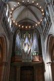Όργανο εκκλησιών του καθεδρικού ναού του ST Peter στη Γενεύη Στοκ φωτογραφίες με δικαίωμα ελεύθερης χρήσης