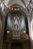 Όργανο εκκλησιών του καθεδρικού ναού του ST Peter στη Γενεύη Στοκ Εικόνες