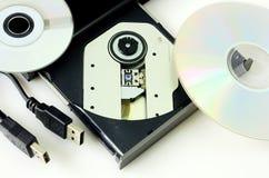 Όργανο καταγραφής DVD  στοκ φωτογραφία