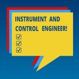Όργανο κειμένων γραφής και μηχανικός ελέγχου Έννοια που σημαίνει το βιομηχανικό σωρό εξοπλισμού εφαρμοσμένης μηχανικής αυτοματοπο απεικόνιση αποθεμάτων