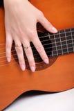 όργανο κιθάρων μουσικό Στοκ φωτογραφίες με δικαίωμα ελεύθερης χρήσης