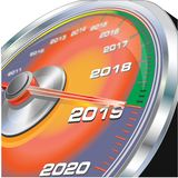 Όργανο μέτρησης εποχής του χρόνου απεικόνιση αποθεμάτων