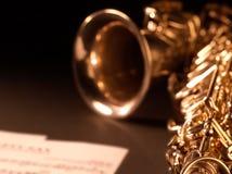 Όργανο μουσικής τζαζ Saxophone Στοκ Εικόνες
