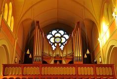 Όργανο στην εκκλησία, Σουηδία, Ευρώπη Στοκ φωτογραφία με δικαίωμα ελεύθερης χρήσης