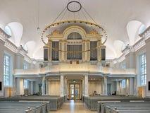 Όργανο σωλήνων του καθεδρικού ναού του Γκέτεμπουργκ, Σουηδία Στοκ εικόνα με δικαίωμα ελεύθερης χρήσης