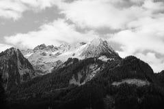 όρη Αυστριακός Στοκ Φωτογραφίες