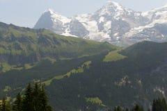 όρη Ελβετία στοκ φωτογραφίες