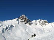 όρη κάνοντας σκι Ελβετός Στοκ φωτογραφία με δικαίωμα ελεύθερης χρήσης