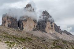 Όρη δολομιτών, βουνό, καλοκαίρι, Ιταλία Στοκ φωτογραφίες με δικαίωμα ελεύθερης χρήσης