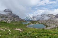 Όρη δολομιτών, βουνό, καλοκαίρι, Ιταλία Στοκ εικόνα με δικαίωμα ελεύθερης χρήσης