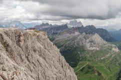 Όρη δολομιτών, βουνό, καλοκαίρι, Ιταλία Στοκ εικόνες με δικαίωμα ελεύθερης χρήσης