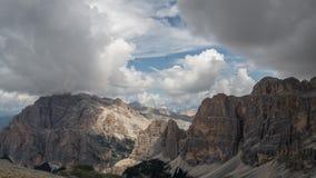 Όρη δολομιτών, βουνό, καλοκαίρι, Ιταλία Στοκ Φωτογραφίες
