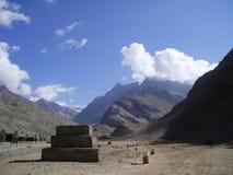 Όριο της Ινδίας Κίνα στοκ εικόνες