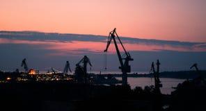 Όρμος ηλιοβασιλέματος Στοκ φωτογραφίες με δικαίωμα ελεύθερης χρήσης