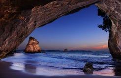 όρμος Νέα Ζηλανδία καθεδρ& στοκ εικόνες