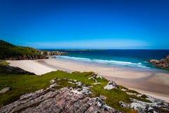 Όρμος παραλιών στη Σκωτία Στοκ φωτογραφία με δικαίωμα ελεύθερης χρήσης