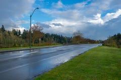 Όρμος του Πέρσιβαλ μετά από τη βροχή στοκ φωτογραφίες με δικαίωμα ελεύθερης χρήσης