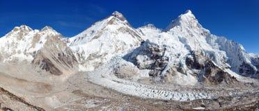Όρος Έβερεστ, Lhotse και Nuptse Στοκ Εικόνες