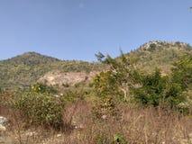 Όρος Έβερεστ Pahad Hariyali στοκ φωτογραφίες