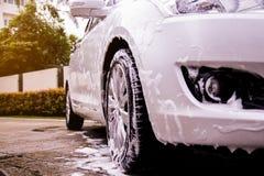 Όρος οχημάτων που πλένεται στοκ εικόνες με δικαίωμα ελεύθερης χρήσης
