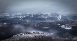 λόφος σιωπηλός Στοκ Εικόνες