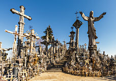 λόφος σταυρών Στοκ Εικόνες