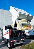 όχημα αποκομιδής απορριμμάτων οδών Στοκ Εικόνα