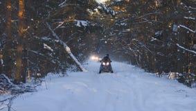 Όχημα για το χιόνι Στοκ φωτογραφία με δικαίωμα ελεύθερης χρήσης