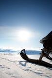 όχημα για το χιόνι Στοκ φωτογραφίες με δικαίωμα ελεύθερης χρήσης