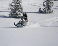 όχημα για το χιόνι snowmachine 8 αναβα&ta Στοκ Εικόνες