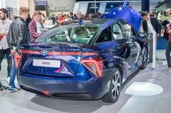 Όχημα κυττάρων καυσίμου υδρογόνου της Toyota Mirai στοκ φωτογραφία με δικαίωμα ελεύθερης χρήσης