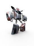 όχημα παιχνιδιών ρομπότ Στοκ εικόνες με δικαίωμα ελεύθερης χρήσης