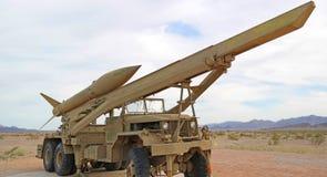 Όχημα προώθησης πυραύλων - πανόραμα Στοκ εικόνα με δικαίωμα ελεύθερης χρήσης