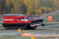 Όχημα πυρκαγιάς του Caterpillar Στοκ Εικόνες