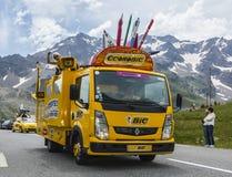 Όχημα BIC - γύρος de Γαλλία 2014 Στοκ Εικόνες