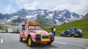 Όχημα Cochonou - γύρος de Γαλλία 2014 Στοκ Εικόνες