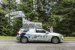 Όχημα RAGT Semences - γύρος de Γαλλία 2014 Στοκ Εικόνα