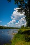 Όχθεις του ποταμού Στοκ εικόνες με δικαίωμα ελεύθερης χρήσης