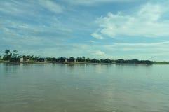 Όχθεις του ποταμού Brahmaputra Στοκ φωτογραφία με δικαίωμα ελεύθερης χρήσης