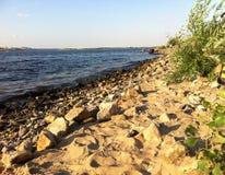 Όχθη ποταμού Στοκ Φωτογραφία