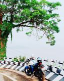 Όχθη ποταμού Brahmaputra στοκ εικόνες