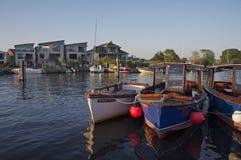 Όχθη ποταμού Tuckton Στοκ Εικόνες