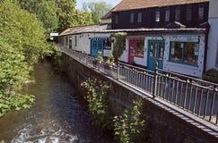 Όχθη ποταμού Wimborne Στοκ φωτογραφία με δικαίωμα ελεύθερης χρήσης