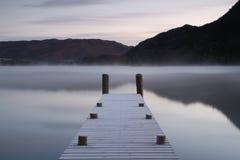 Όχθη της λίμνης Jetee Στοκ εικόνες με δικαίωμα ελεύθερης χρήσης