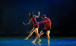 Όχι άδεια-σύγχρονος χορός Στοκ φωτογραφίες με δικαίωμα ελεύθερης χρήσης
